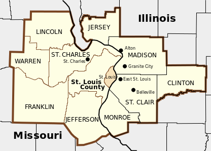 Greater STL Map