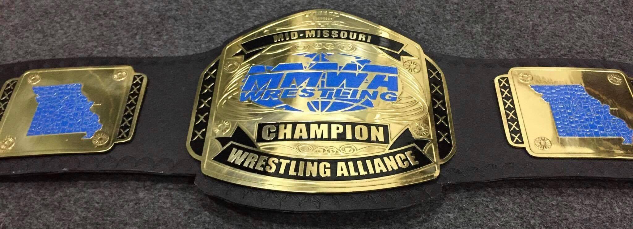 MMWA Championship belt