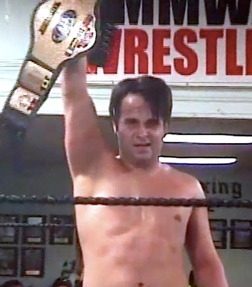 Espy holds belt