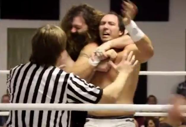Dirden locks Kasa in his Asiatic Spike in December 2013.