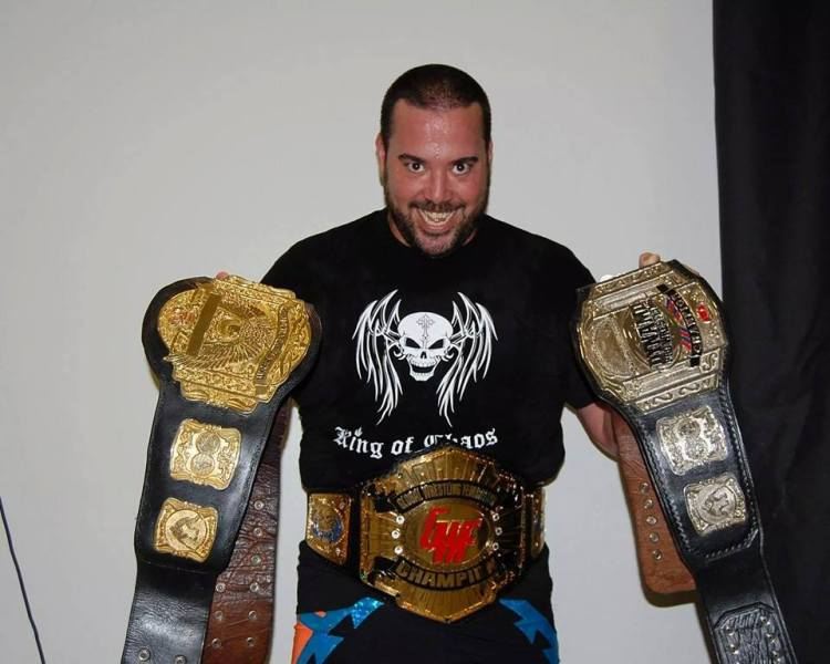 Ricky Cruz would love to add SICW's belt to his collection.