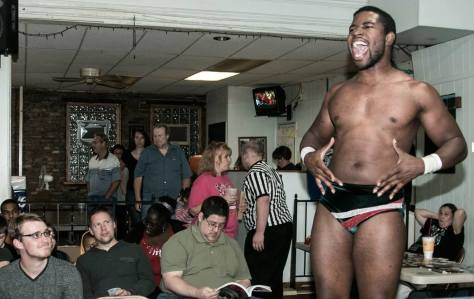 Da'Marius Jones celebrates his King of Cable tournament victory in the crowd September 13.  Photo: Brian Kelley