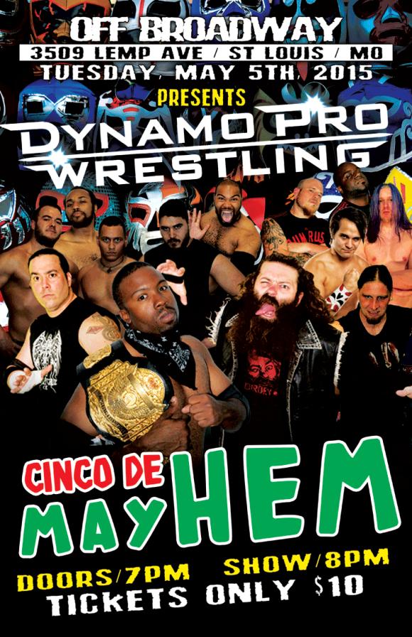 Dynamo Pro 5/5/15