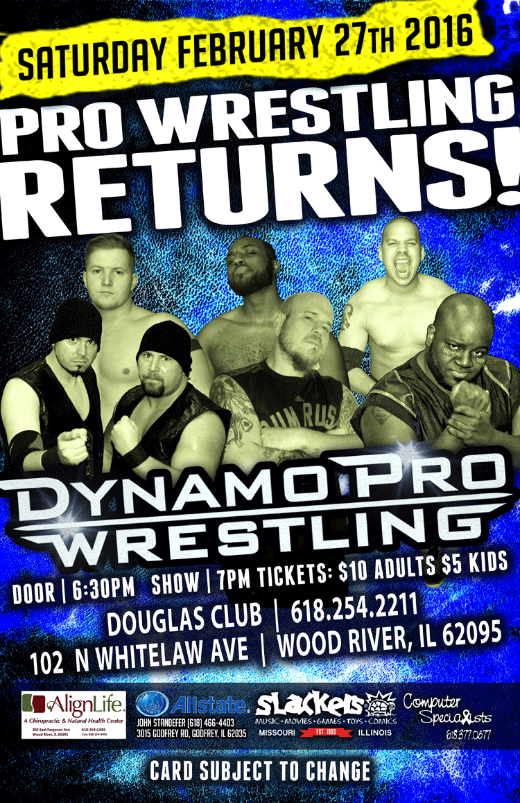 Dynamo Pro 2/27/16