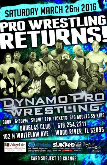 Dynamo Pro 3/26/16