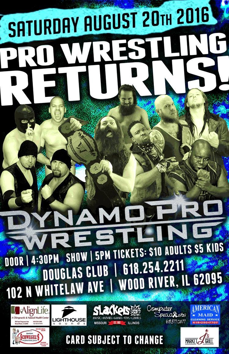 Dynamo Pro 8/20/16