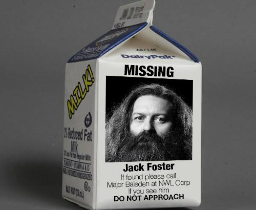 Jack Foster is Missing