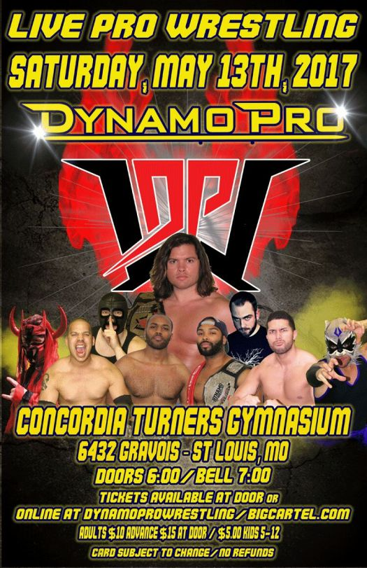 Dynamo Pro 5/13/17