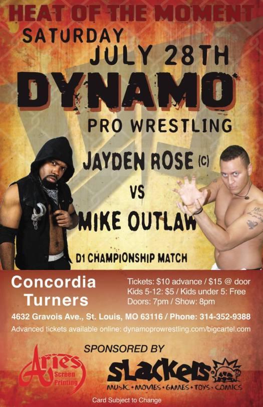 Dynamo Pro 7/28/18