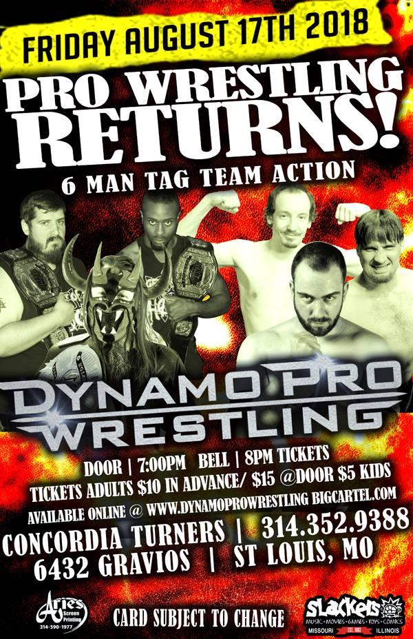 Dynamo Pro 8/17/18