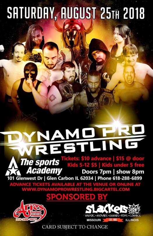 Dynamo Pro 8/25/18