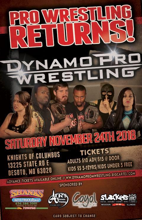 Dynamo Pro 11/24/18