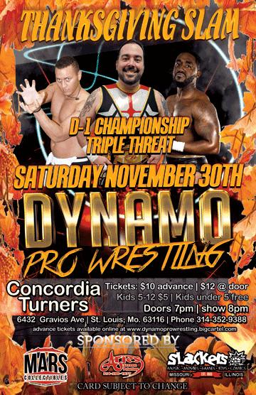 Dynamo Pro 11/30/19